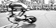 04-07-2015: Wielrennen: Grande Depart: Tour de France: Utrecht<br /> <br /> Daniel TEKLEHAIMANOT<br /> <br /> De 1e etappe van de Tour de France van 2015 was een individuele tijdrit van 13,8 kilometer. De start en finish zijn bij de Jaarbeurs in Utrecht