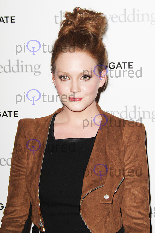 Olivia Hallinan, The Big Wedding special screening, The May Fair Hotel, London UK, 23 May 2013, (Photo by Richard Goldschmidt)