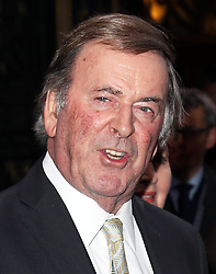 Sir Terry Wogan arriving for the opening night of the West End production of the Broadway hit musical Once in London ,Tuesday, 9th April 9th 2013 Photo by: Stephen Lock / i-Images