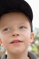 Little Boy in Baseball Cap