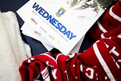 Sheffield Wednesday matchday programme in the Bristol City dressing room - Rogan/JMP - 18/11/2017 - Hillsborough Stadium - Sheffield, England - Sheffield Wednesday v Bristol City - Sky Bet Championship.