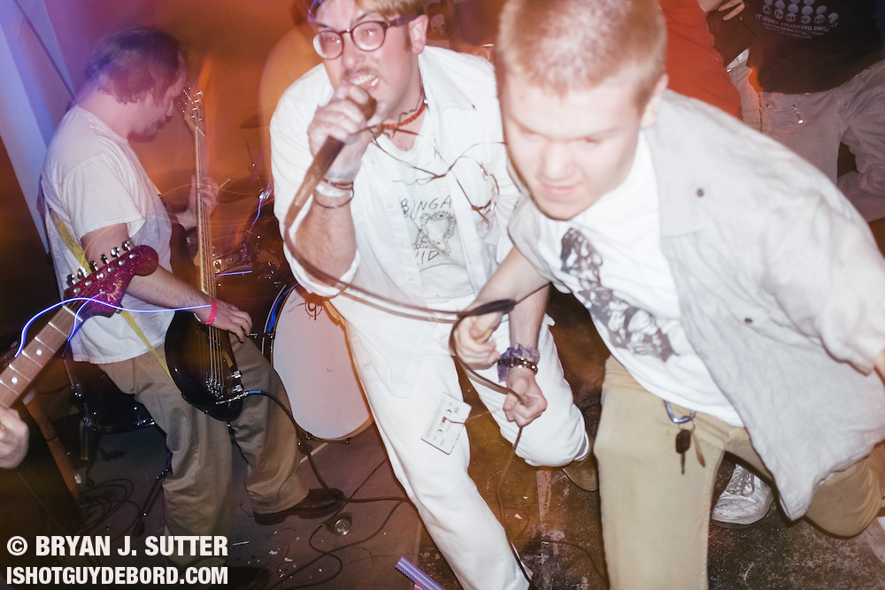 Tampa Bay natives Permanent Makeup performed at Los Punk in St. Louis on May 18th, 2014 with local acts Q, Animal Teeth and Dad Jr.<br /> <br /> It got a little wild.