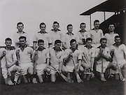 Waterford-All-Ireland Hurling Champions 1959. Back Row: F O'Brien, J Barron, E Power, J Condon, M Og Morrissey, J Harney, A Flynn, P Grimes, M Lacey, J Coady. Front Row: P Casey, T Cheasty, L Guinan, M Flannelly, F Walsh (capt), L Kiely, T Cunningham, S Power, M O'Connor, C Ware, D Whelan.