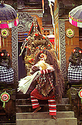 INDONESIA, BALI, DANCE mythical characters in Barong Dance