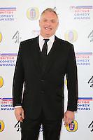 Greg Davies, British Comedy Awards, Fountain Studios, London UK, 12 December 2013, Photo by Richard Goldschmidt