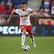 HARRISON, NEW JERSEY- OCTOBER 15: Sean Davis #27 of New York Red Bulls in action during the New York Red Bulls Vs Atlanta United FC, MLS regular season match at Red Bull Arena, Harrison, New Jersey on October 15, 2017 in Harrison, New Jersey. (Photo by Tim Clayton/Corbis via Getty Images)