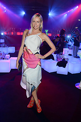 NADYA ABELA at a party to celebrate the 1st birthday of nightclub 2&8 at Mortons held in Berkeley Square, London on 3rd October 2013.