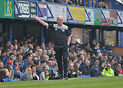 Portsmouth Manager Paul Cook during the Sky Bet League 2 match between Portsmouth and Carlisle United at Fratton Park, Portsmouth, England on 2 April 2016. Photo by Adam Rivers.