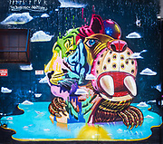 This is part of an exclusive collection of high quality and precisely framed wall murals and street art from New York City. All photographs have been taken with highly saturated medium format slide film, which provides authenticity and the ability to print very large.