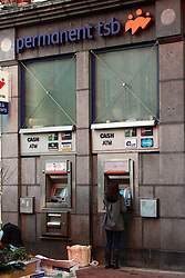 PERMANENT TSB © London News Pictures 10/01/2011. Irish Prime Minister Brian Cowen is under pressure over his relationship with former Anglo Irish Bank chairman Sen FitzPatrick. Anglo Irish Bank was taken into state ownership in January 2009 and is the largest contributor of assets to the Irish National Asset Management Agency. Picture caption should read Simon Lamrock/LNP