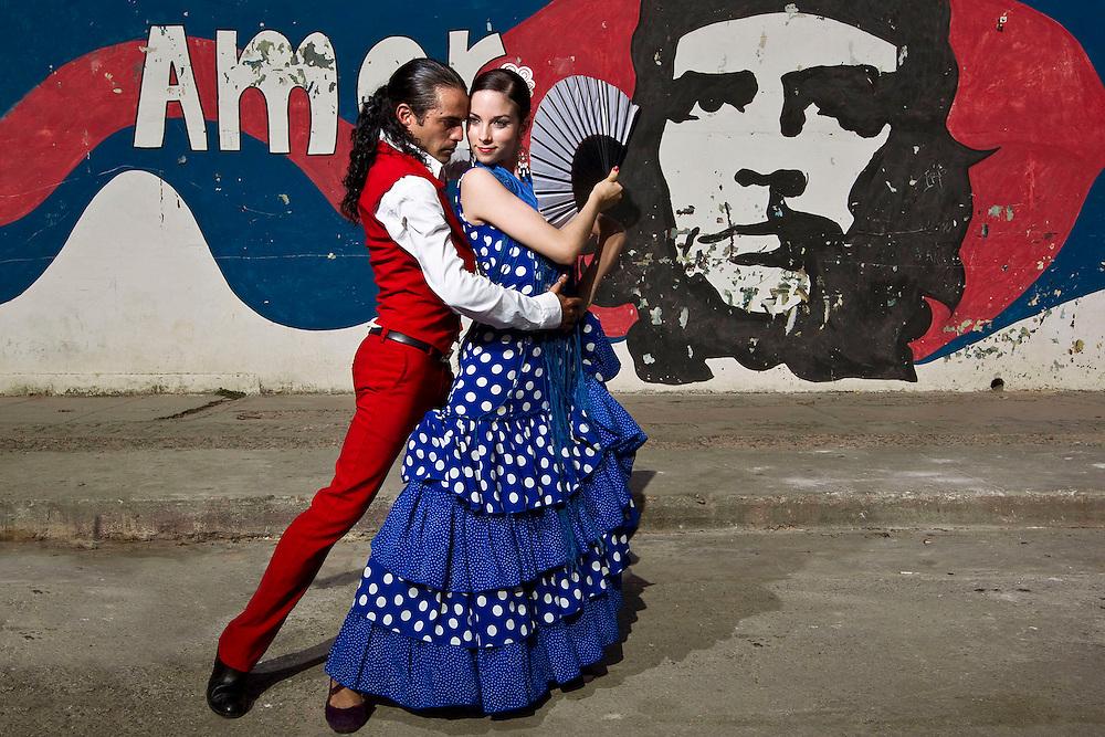 Havana Cuba Flamenco dancers