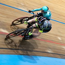 28-12-2019: Wielrennen: NK Baan: Alkmaar<br />Shanne Braspennicx kan Laurine van Riessen niet van de winst houden in de eerste finale rit