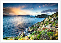 Early morning view from Cape Bruny [Bruny Island, Tasmania]<br /> <br /> To purchase please email orders@girtbyseaphotography.com quoting the image number PB207372, and your preferred print size. You will receive a quick reply recommending print media options to best suit your chosen image, plus an obligation-free quotation. Current standard size prices are published on the Pricing page.