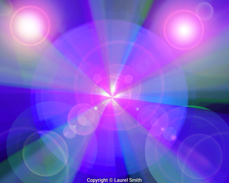 Healing Power #21 ~ Healing power as it flows through the Cosmos. ~ © Laurel Smith