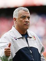 Fussball International Laenderspiel Schweiz - Venezuela Trainner Richard PAEZ (VEN)