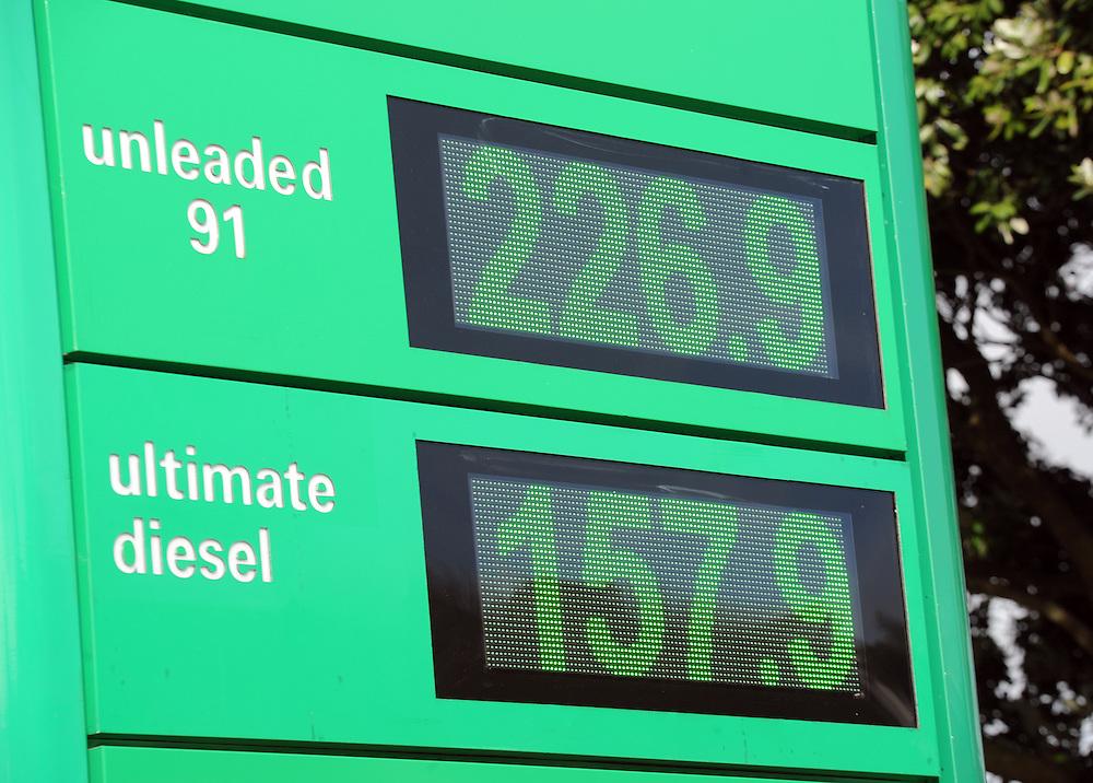 BP petrol prices, Wellington, New Zealand, Thursday, July 18, 2013. Credit:SNPA / Ross Setford