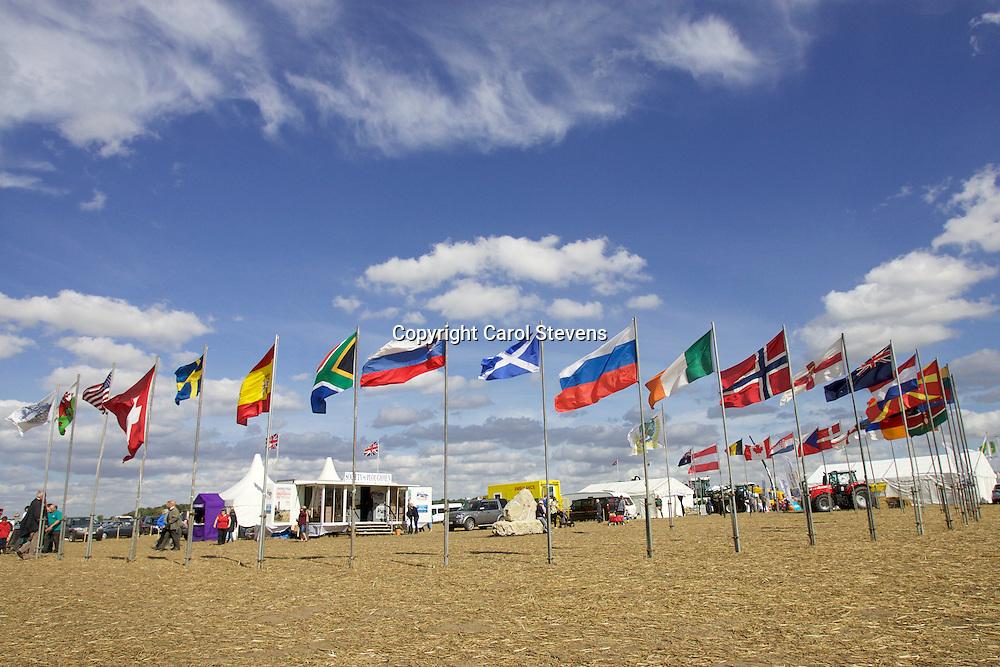 World and British National Ploughing Championships 2016  Around the Showground