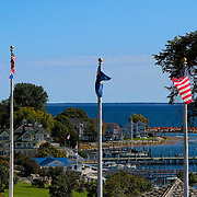 &quot;Flags Over Mackinac&quot;<br />