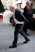 Andrew Marr Show arrivals at Broadcasting House, BBC, London, Great Britain <br /> 4th December 2016 <br /> <br /> <br /> Boris Johnson <br /> Foreign Secretary <br /> <br /> Photograph by Elliott Franks <br /> Image licensed to Elliott Franks Photography Services
