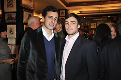 Left to right, STAN BEREMSKI and NICK VON CHRISTIERSON at a party to celebrate the publication of Maryam Sach's novel 'Without Saying Goodbye' held at Sotheran's Bookshop, 2 Sackville Street, London on 10th November 2009.