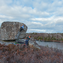 Bouldering in Nova Scotia