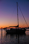 Sunrise Sailboat