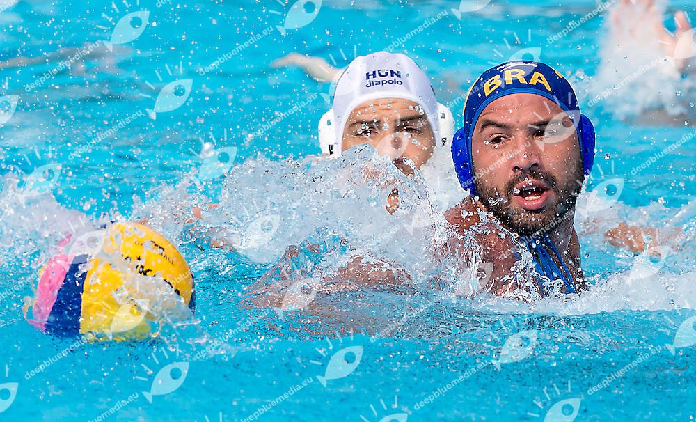 10 PERRONE Felipe BRA<br /> Hungary HUN (white) - Brazil BRA  (blue)<br /> day 03 - 25/06/2015<br /> FINA Water Polo World League Superfinal Men<br /> Bergamo (ITA) 23-28 June 2015<br /> Photo G.Scala/Deepbluemedia