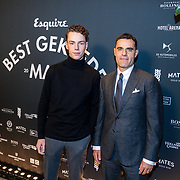 NLD/Amsterdam/20191114 - Uitreiking Esquires Best Geklede Man 2019,<br /> Kenneth Perez en ...