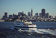 Bay Ferry, San Francisco Bay, San Francisco, California