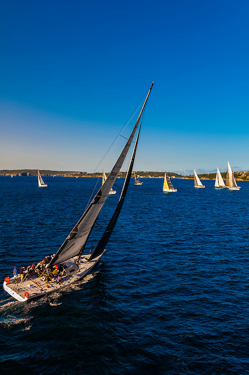 Sailboats, Sydney Harbor, Sydney, New South Wales, Australia