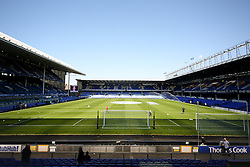 A general view of Goodison Park ahead of the Barclays Premier League match between Everton and Burnley - Photo mandatory by-line: Matt McNulty/JMP - Mobile: 07966 386802 - 18/04/2015 - SPORT - Football - Liverpool - Goodison Park - Everton v Burnley - Barclays Premier League