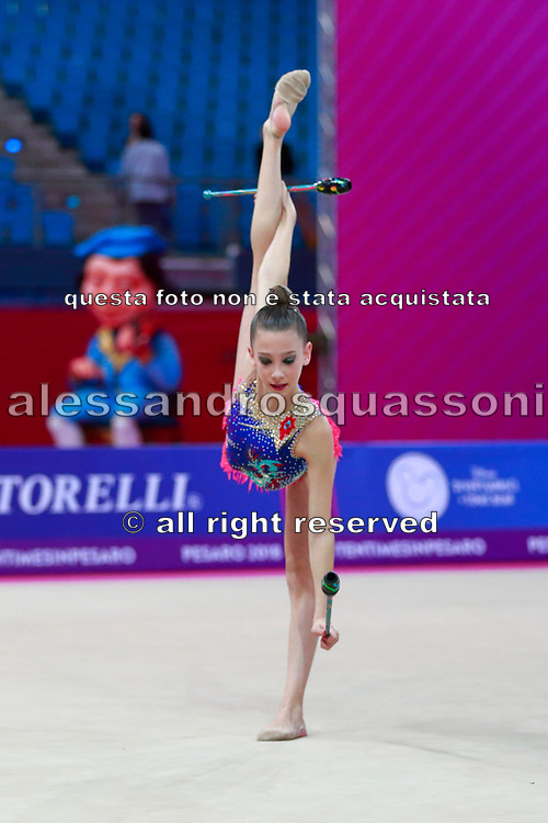 Fainberg Sol from Argentine is gymnast born in Oviedo in 2002.