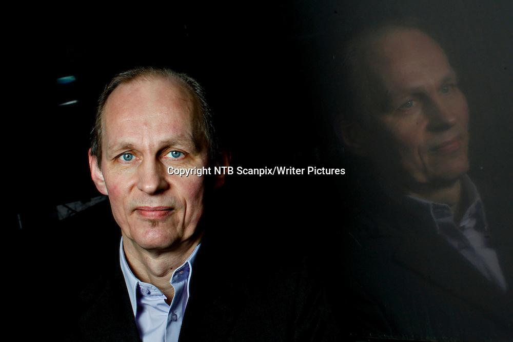 Oslo  20130117.<br /> Portrett av den finske forfatter Mikael Niemi som er aktuell med boken Fallvann.<br /> Foto: Anette Karlsen / NTB scanpix<br /> <br /> NTB Scanpix/Writer Pictures<br /> <br /> WORLD RIGHTS, DIRECT SALES ONLY, NO AGENCY