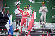 September 4, 2016: Sebastian Vettel (GER), Ferrari , Italian Grand Prix at Monza