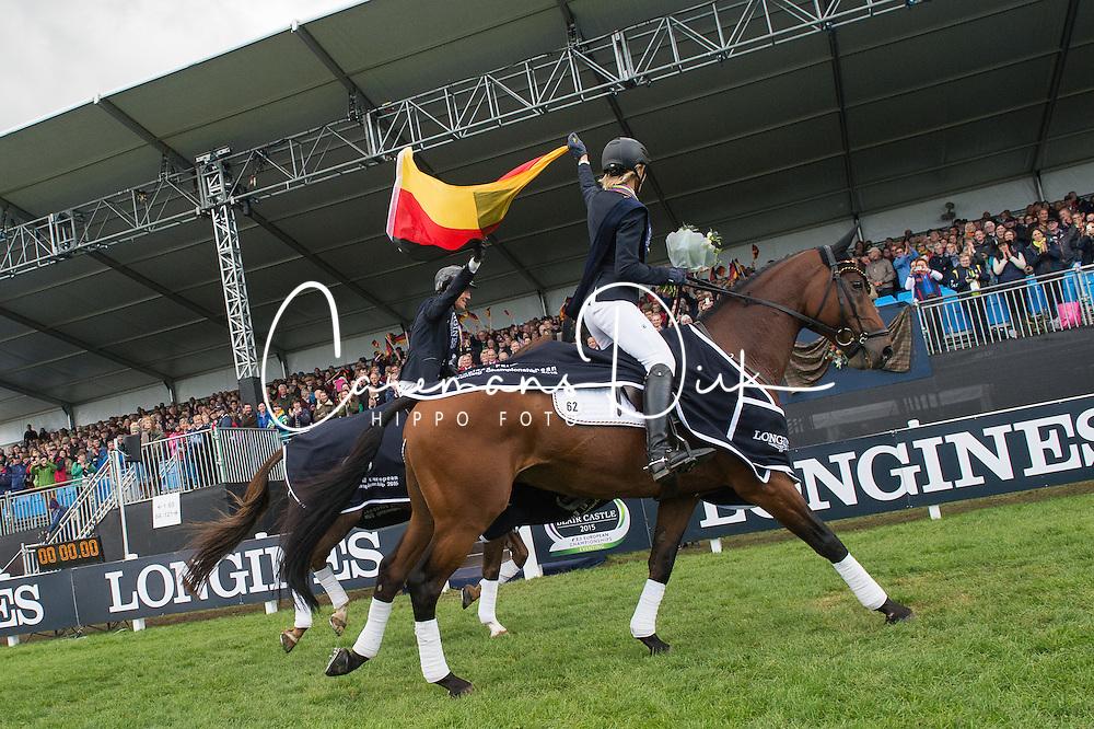 Team Germany,<br /> Longines FEI European Eventing Chamionship 2015 <br /> Blair Castle<br /> © Hippo Foto - Jon Stroud