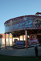 Funfair in Ballybrack County Dublin Ireland