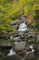 Waterfall White Mountains New Hampshire