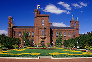 Image of the Smithsonian Institution in Washington DC, American Northeast