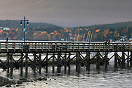 The pier at Rocky Point Park in Port Moody, British Columbia, Canada