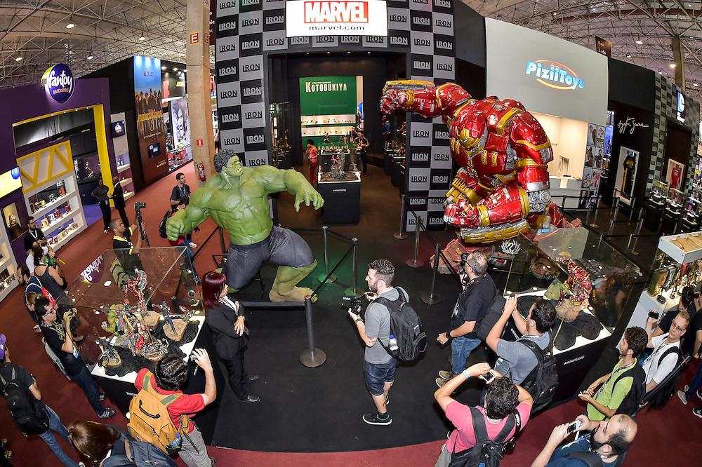 03/12/2015 – Auditório Cinemark, coletiva de imprensa da Comic Con Experience 2015 na São Paulo Expo em São Paulo, capital. Foto:Gustavo Scatena
