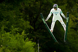 Rok Tarman of Slovenia during Ski Jumping Continental Cup 2018, on July 8, 2018 in Kranj, Slovenia. Photo by Urban Urbanc / Sportida