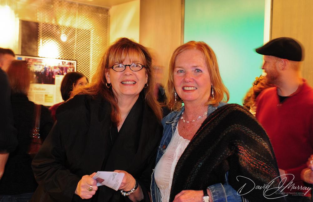 NHPR Presidetn & CEO Betsy Gardella and The Music Hall Executive Director Paricia Lynch