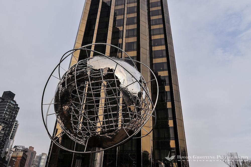 US, New York City. Trump International Hotel and Tower at Columbus Circle.