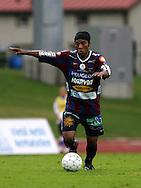 """13.08.2008, Kauriala, H?meenlinna, Finland..Ykk?nen 2008.FC H?meenlinna - JJK Jyv?skyl?.Adailton Pereira dos Santos """"Ady"""" - JJK.©Juha Tamminen.....ARK:k"""