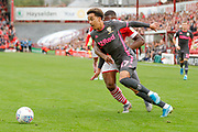 Leeds United forward Helder Costa (17), on loan from Wolverhampton Wanderers,  during the EFL Sky Bet Championship match between Barnsley and Leeds United at Oakwell, Barnsley, England on 15 September 2019.