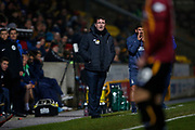 Bradford City Manager Gary Bowyer during the The FA Cup match between Bradford City and Shrewsbury Town at the Utilita Energy Stadium, Bradford, England on 19 November 2019.