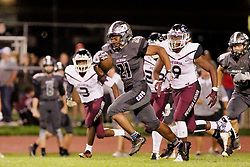 21 September 2018: Peoria High School Lions at Normal West Wildcats football, Normal Illinois<br /> <br /> #bestlookmagazine #alphoto513 #IHSA #IHSAFootball  #NCWHS_GIC   NCWHS_Football