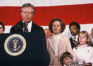 Carter election night 1980<br /> <br /> by Dennis Brack