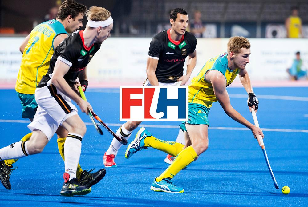 BHUBANESWAR - The Odisha Men's Hockey World League Final . Match ID 05 . Germany  v Australia . Daniel Beale (Aus)  WORLDSPORTPICS COPYRIGHT  KOEN SUYK