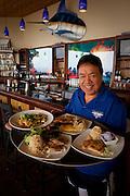 Sam Choy, Sam Choy's Kai Lanai, Keauhou,  Kailua-Kona, Island of Hawaii